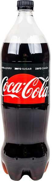 Кока-Кола зеро 1л доставка Напої, замовити Напої