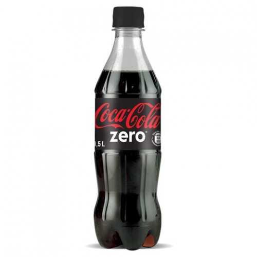 Кока-Кола зеро 0.5л доставка Напої, замовити Напої