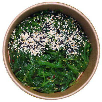 Салат чука з кунжутом