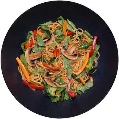 WOK з овочами