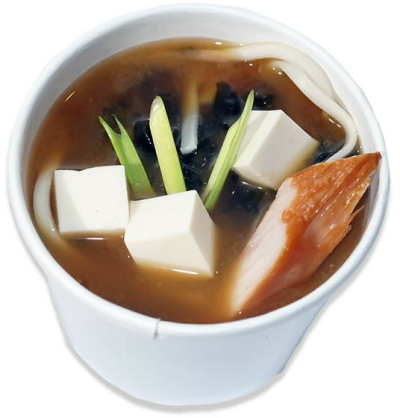 Місо суп з лапшою та куркою