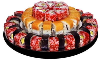 Суші торт PARADISE доставка Суші торти, замовити Суші торти